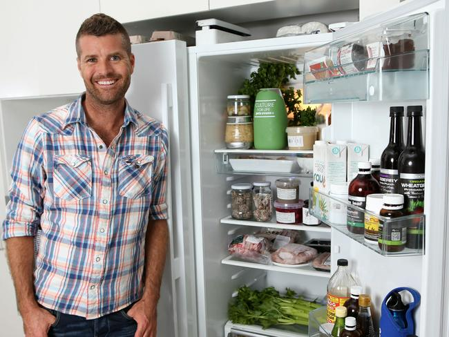Celebrity chef and My Kitchen Rules co-host Pete Evans is a staunch proponent of the paleo diet. Picture: Damian Shaw