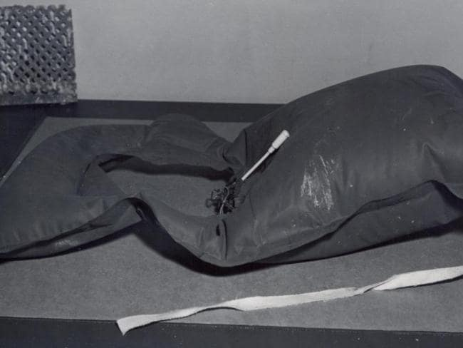 One of the life vests made by the inmates. Picture: FBI