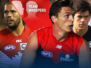 Team Whispers: Dees' cautious call amid 'tipping point', forgotten Blue in the mix