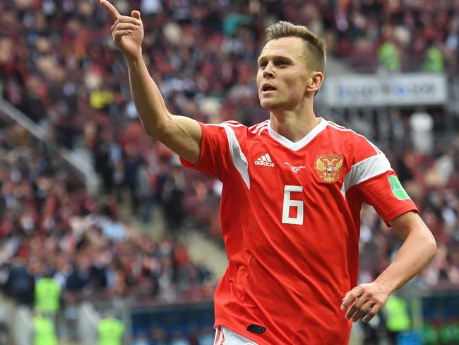 Denis Cheryshev had a match to remember.