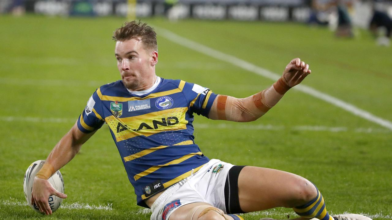 Clinton Gutherson played a variety of roles last year for the Eels