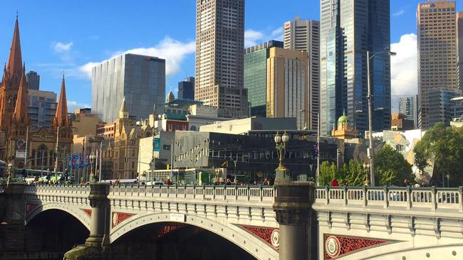 A mere bridge walk takes you from the Southbank side to the CBD side of the city
