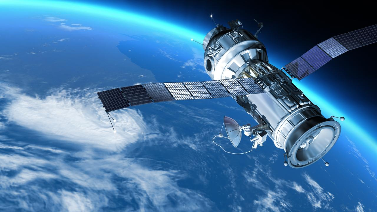 Satellites in space observe how the Earth's magnetic field shifts. Picture: iStock