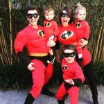 "Halloween 2016 via social media ... David Campbell, ""Happy Halloween love from The Incredibles!"" Picture: Instagram"