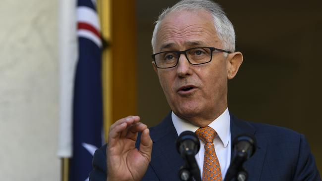 Mr Turnbull said the world wouldn't tolerate reckless behaviour from Russia. Picture: Lukas Coch/AAP