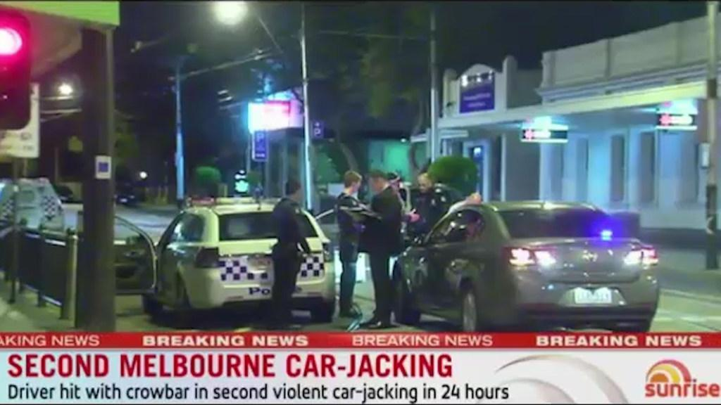 Second car-jacking in Melbourne | Daily Telegraph