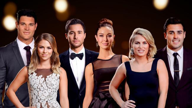 Some of the Bachelor In Paradise cast members. Source:Supplied