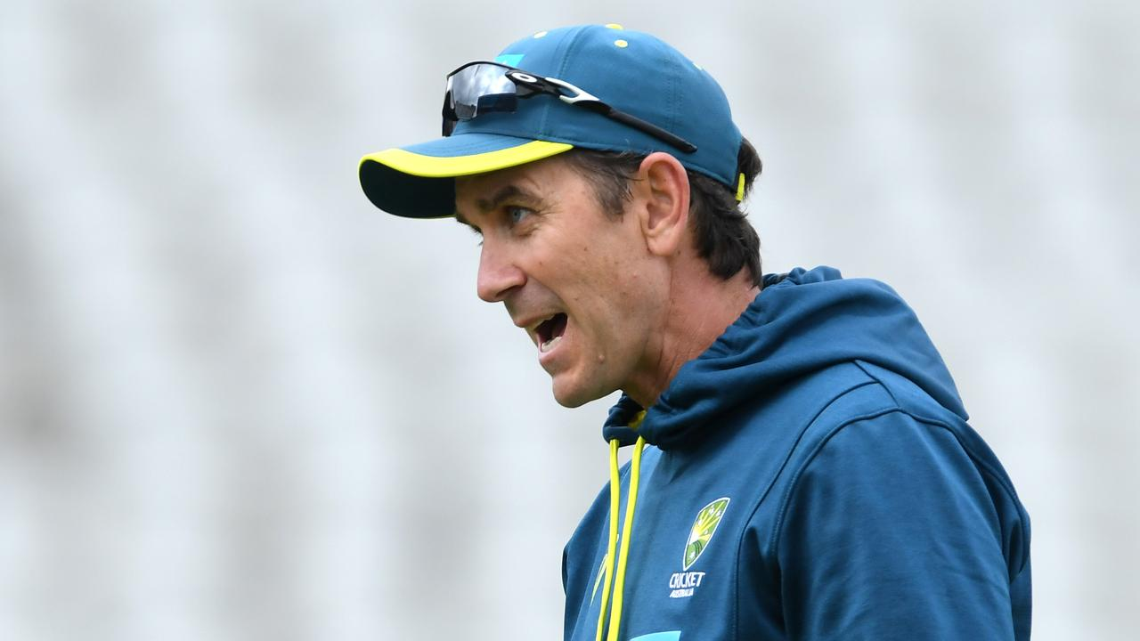 Justin Langer said the team could have given more consideration to taking a knee. (Photo by Stu Forster/Getty Images for ECB)