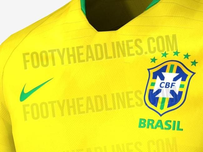 Brazil's kit for the World Cup has been leaked