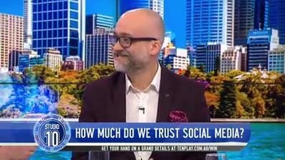 DAILY DILEMMA Do You Trust Social Media - Studio 10