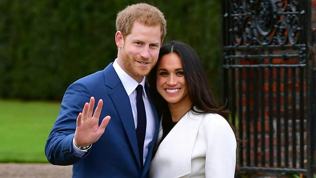Thomas' life also changed the day Meghan announced her engagement to Prince Harry. Picture: Dominic Lipinski/PA Wire