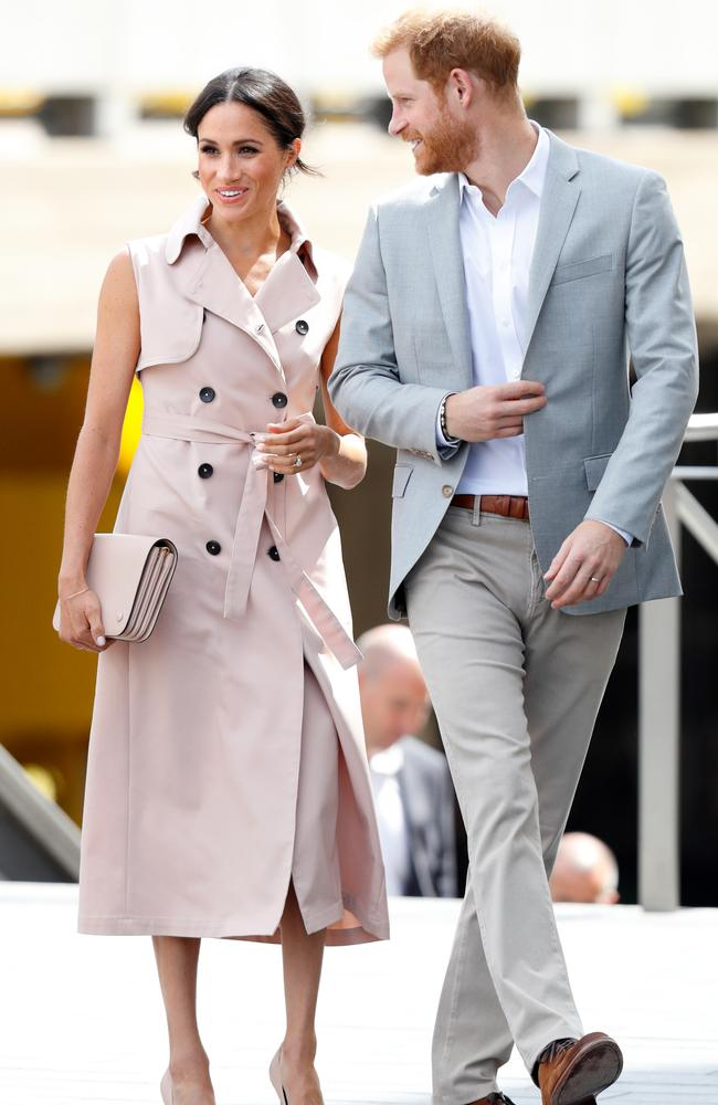 Meghan and Harry in London in July 2018. Picture: Max Mumby/Indigo/Getty Images.