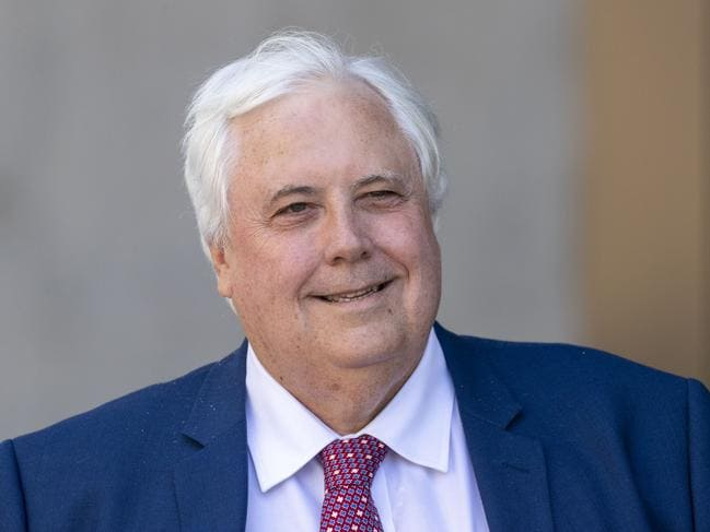 United Australia Party leader Clive Palmer will pay his Queensland Nickel workers. Picture: Glenn Hunt