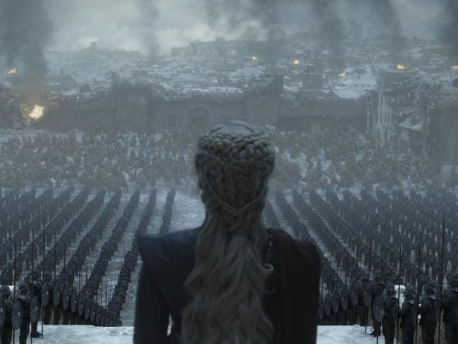 Emilia Clarke as Daenerys Targaryen will likely not appear in the latest prequel, which takes place 300 years before her character's existence. Picture: HBO
