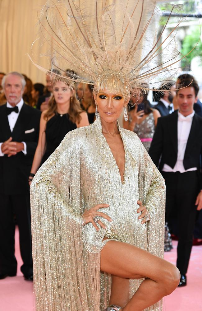 Part woman, part ostrich, all diva. Picture: Dimitrios Kambouris/Getty Images for The Met Museum/Vogue