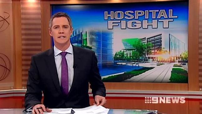 Nine News Perth Children's Hospital