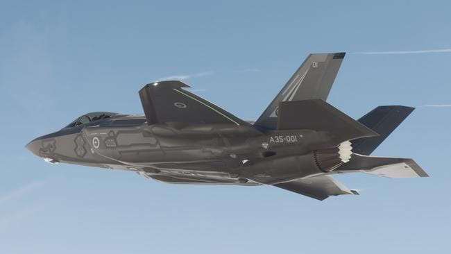 The first F-35 fighter jets will be arriving in Australia on December 10 this year, but the jobs attached to keeping them in the air will continue for decades. Picture: Lockheed Martin
