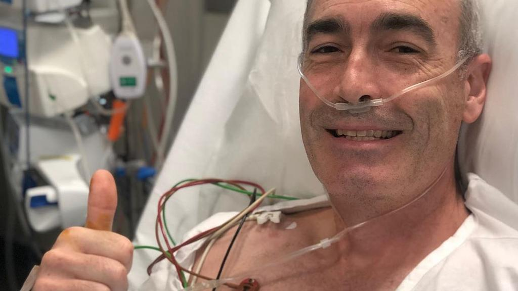 The former Wiggle was in hospital earlier this year after suffering a cardiac arrest during a bushfire benefit concert.