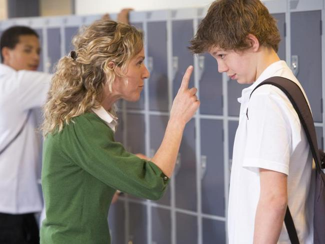 Principals are increasingly having to deal with violent behaviour from students and staff. Picture: Supplied