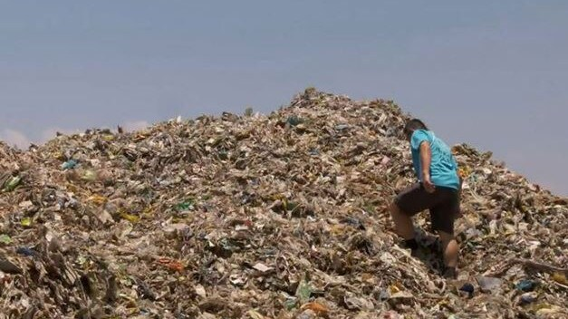 Recycling companies hope the media exposure will be a wake-up call. Picture: 60 Minutes