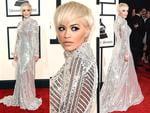 Rita Ora attends the 2015 Grammy Awards. Picture: Getty