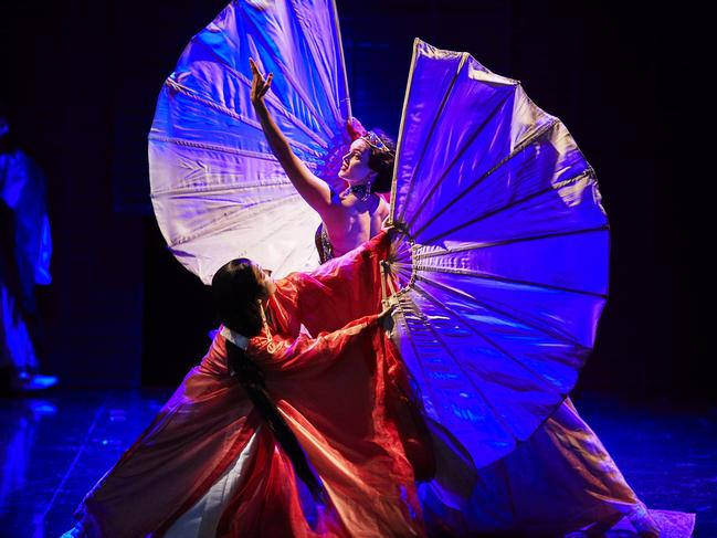 A still from Turandot. Picture: Keith Saunders Photography