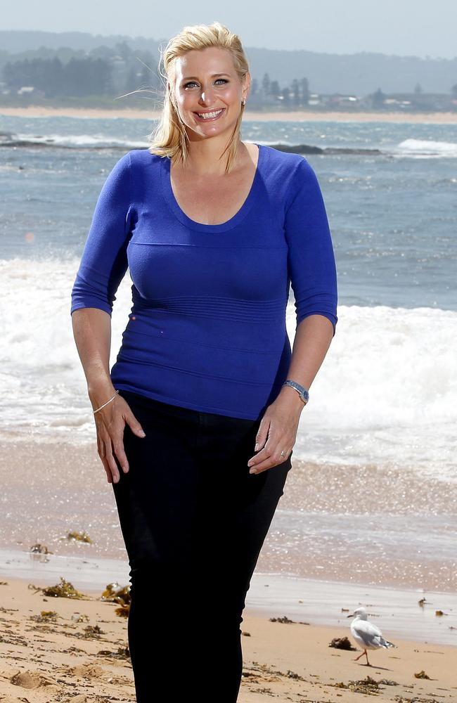 Johanna Griggs At Long Reef Which Is Her Favourite Spot On The Northern Beaches