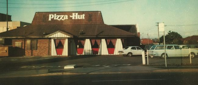 The first Australian Pizza Hut in Belfield (photographed in 1978).