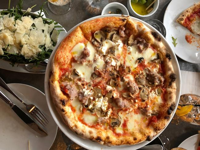 Vacanza Pizzeria offer a great selection of pizzas. Picture: Supplied