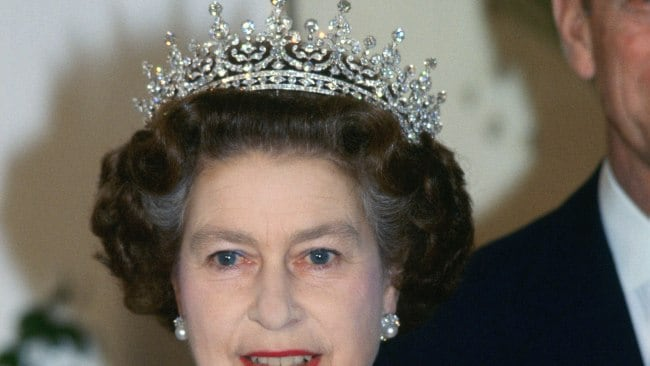 The Queen has always loved a good tiara. Photo by Tim Graham/Getty Images