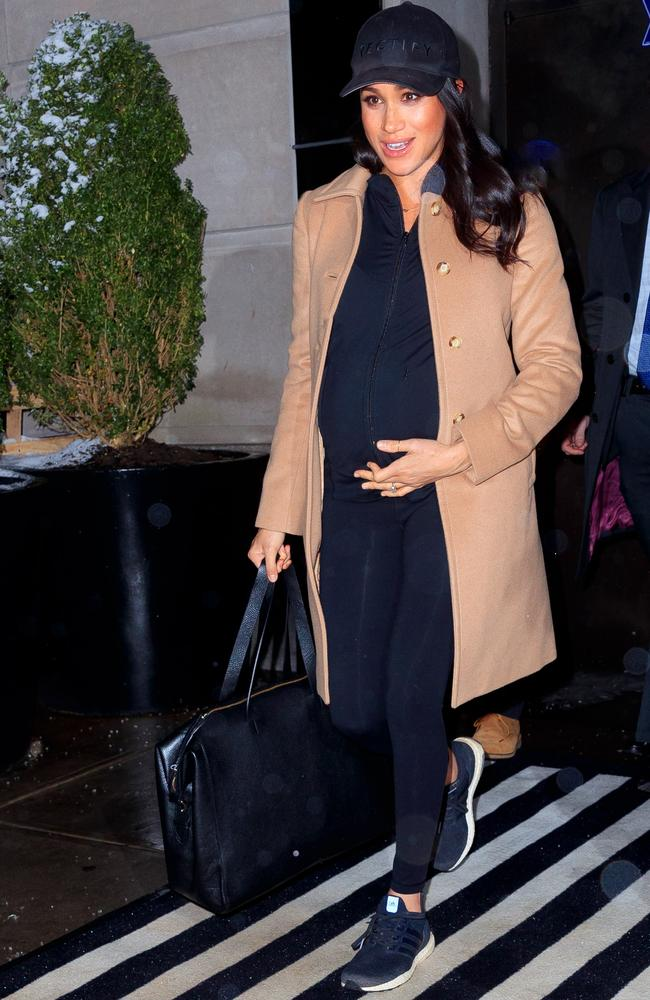 Meghan, Duchess of Sussex while she was in New York City for her lavish baby shower. Picture: Gotham/GC Images