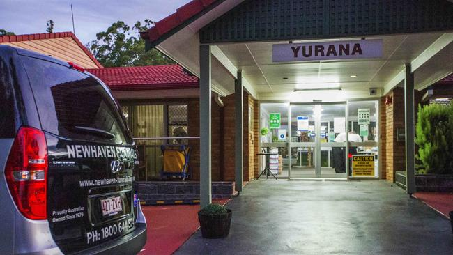 The Yurana Aged Care home in Springwood. Picture: Nigel Hallett
