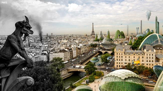 Paris in the future. Picture: Budget Direct
