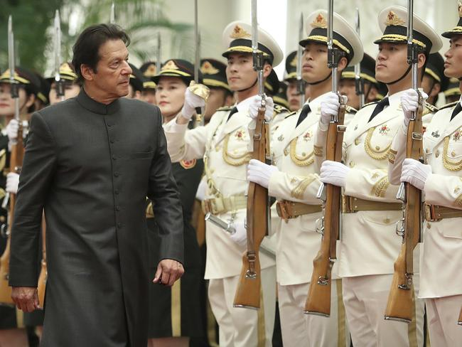 "Pakistan's Prime Minister Imran Khan has called the attack a ""conspiracy"" against Pakistan and China's economic co-operation. Picture: AP Photo/Mark Schiefelbein"