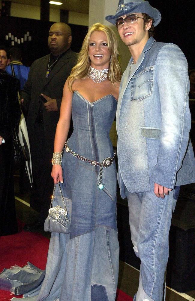 The only thing that's dead is Justin and Britney's awful matching denim outfits