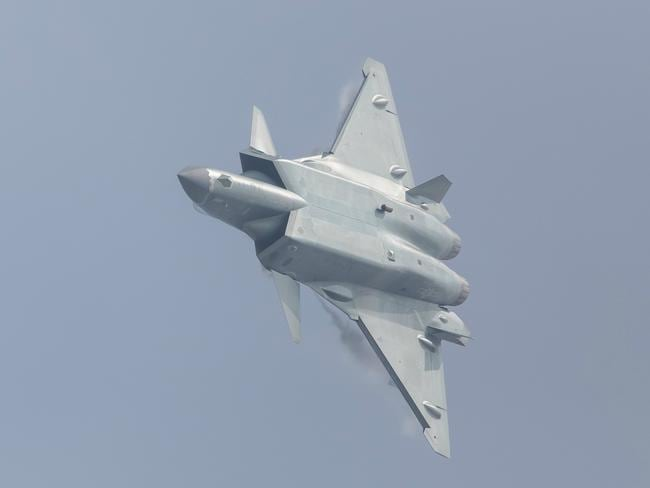 China's J-20 stealth fighter is only the world's second operational stealth fighter, giving Beijing a distinct edge in the Asian arms race. Picture: People's Daily