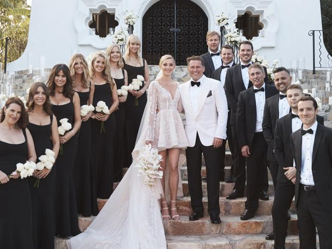 Jasmine Yarbrough and Karl Stefanovic's lavish wedding