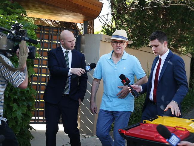Malcolm Turnbull returned to his home in Point Piper this week after fleeing the country for his residence in New York City.