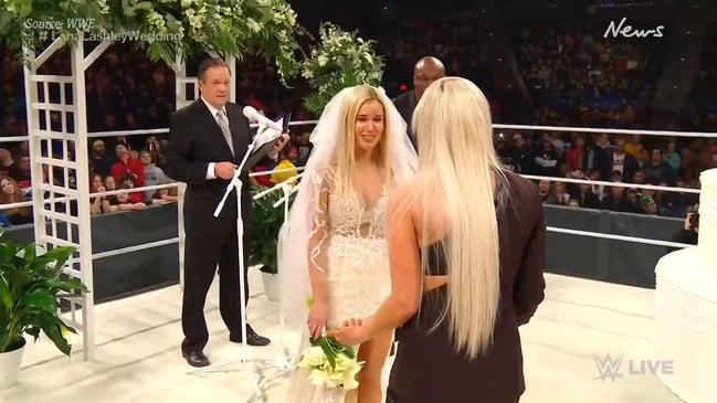 Liv Morgan's WWE wedding lesbian twist