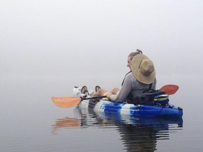 Steve used to love kayaking and has been able to do it again thanks to a world-first spinal cord injury resort.
