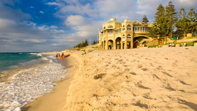 It could be a dry Christmas in WA such as here at Cottesloe beach. Photo: Alamy