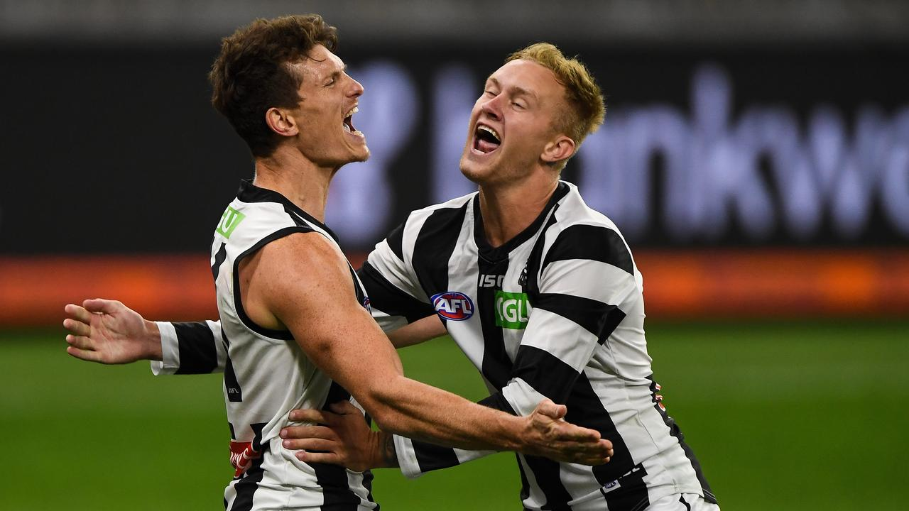 What a win it was. (Photo by Daniel Carson/AFL Photos via Getty Images)