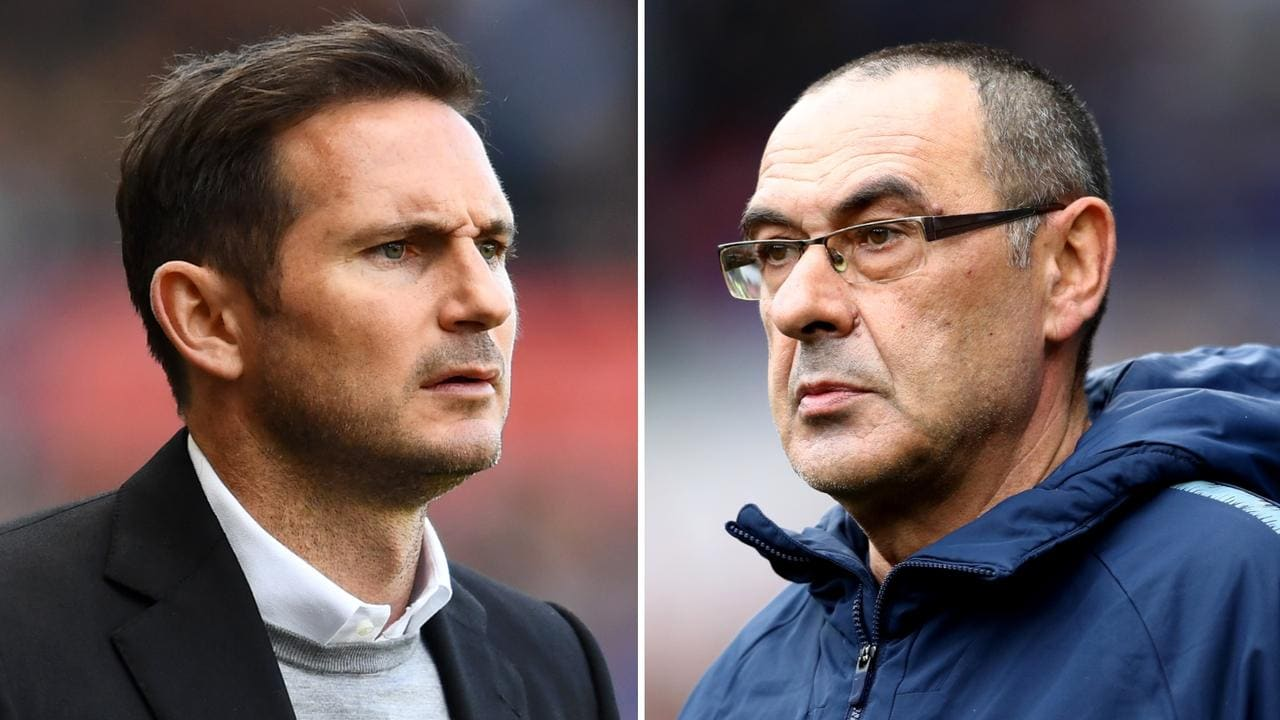 Frank Lampard looks set to become the new Chelsea boss