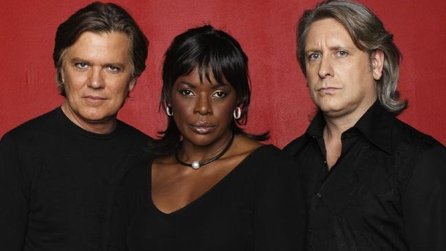 Mark Holden, Marcia Hines and Ian Dickson were the original judges on Australia Idol in 2003.