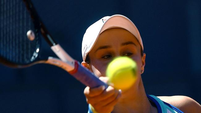 It's back to the drawing board for Ash Barty.