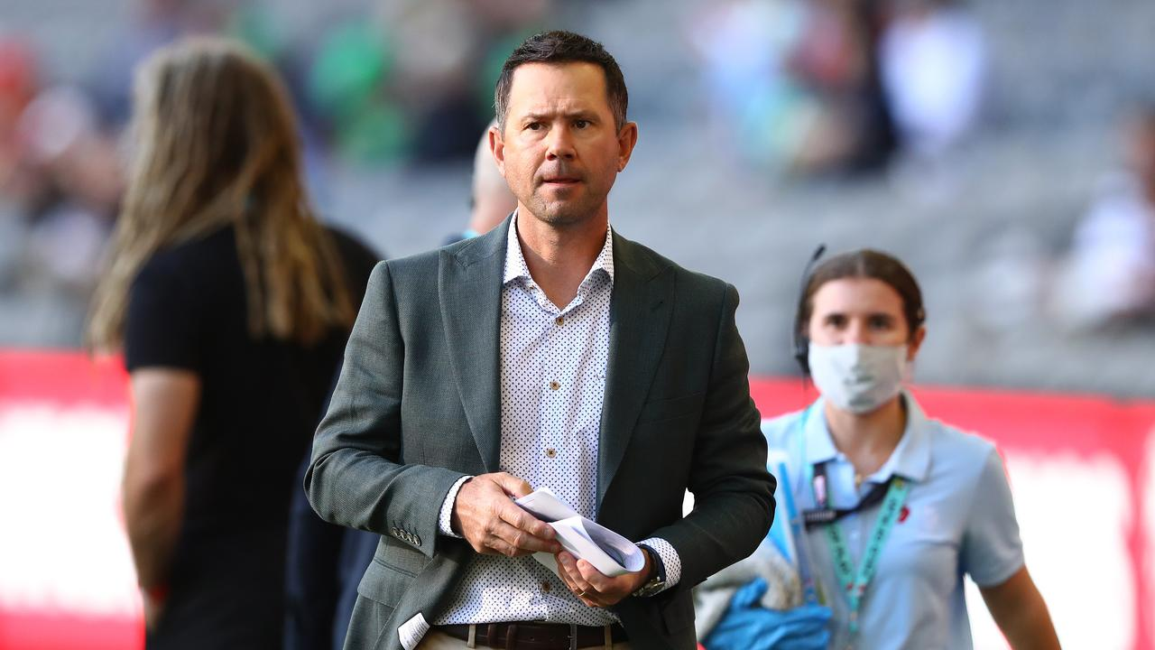 Ricky Ponting was at home at the time. (Photo by Robert Cianflone/Getty Images)