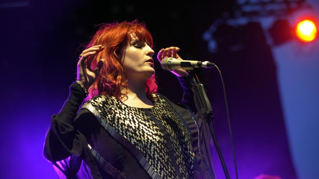 Florence and the Machine headlined Laneway festival in 2010. Picture: Adam Elwood