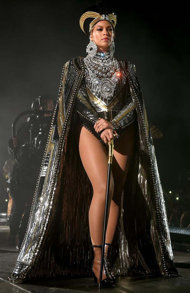 Queen Bey also dropped a surprise new live album of her Coachella performance. Picture: Getty Images for Coachella