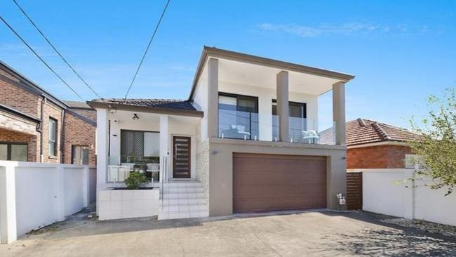 This Brighton Le Sands home on Francis St sold for $280,000 below its original listed price.