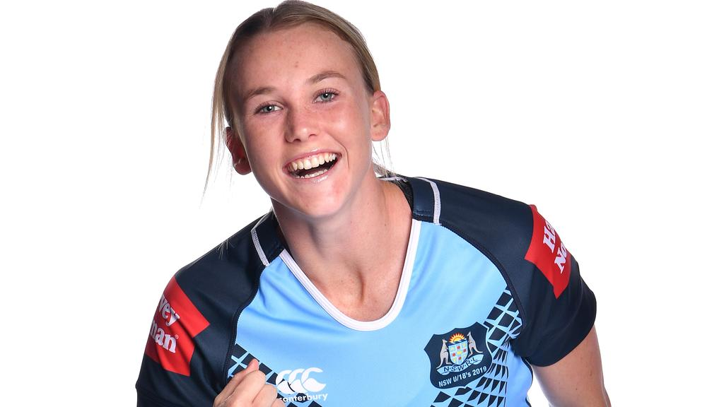 Jaime Chapman shone for NSW in the U18s last year. Picture: Gregg Porteous/NRL Photos
